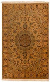 Sale 8715C - Lot 148 - A Persian Nain Silk Inlaid Wool On Cotton Foundation, 205 x 126cm