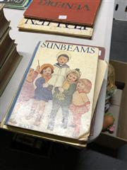 Sale 8819 - Lot 2408 - 4 Volumes Childrens Books incl. Sunbeams; Early Days; Beddington, R. The Adventures of Thomas Trout; The Rose Fairy Book