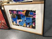 Sale 8861 - Lot 2082 - Malcolm Benham - Volcanic King Country II 2003 84 x 115.5cm