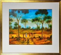 Sale 9143A - Lot 5016 - JOHN COBBY (1957 - ) - Struth, More Bills 50 x 60 cm (frame: 77 x 85 x 5 cm)