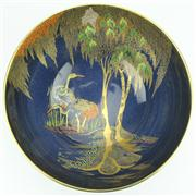 Sale 8314 - Lot 19 - Carlton Ware New Stork Table Bowl by Irene Pemberton