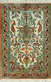Sale 8345C - Lot 46 - Kashmiri Silk 84cm x 63cm