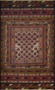 Sale 8380C - Lot 27 - Persian Somak 200cm x 115cm