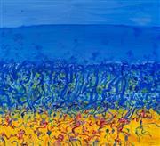 Sale 8451E - Lot 5039 - John Olsen (1928 - ) - Popping Blue Bottles II 71 x 78cm (frame size: 98 x 98cm)