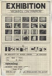 Sale 8766A - Lot 5013 - Exhibition: Works On Paper. Tzer's Café - screenprint