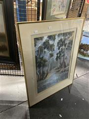 Sale 8906 - Lot 2089 - Trevor Opray - Reflections Halls Gap, oil, SLL, 55.5x41.5cm