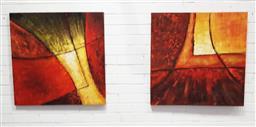 Sale 9139 - Lot 2090 - Pair of decorative prints