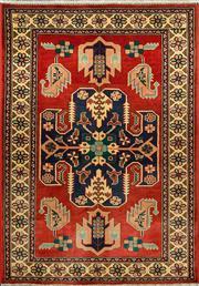 Sale 8345C - Lot 47 - Afghan Kazak 306cm x 78cm