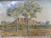 Sale 8582 - Lot 2149 - R Pope Central Australia, 25 x 36 cm