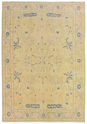 Sale 8725C - Lot 57 - A Vintage Turkish Oushak Carpet, Hand-knotted Wool, 300x203cm, RRP $1,200