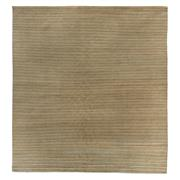 Sale 8915C - Lot 54 - Nepal Tashi Abrash Stripes Carpet, 300x280cm, Tibetan Highland Wool