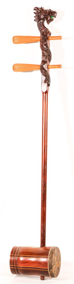 Sale 9136 - Lot 50 - A Chinese Erhu (Missing Strings And Bow)