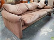 Sale 8585 - Lot 1085 - Cassina Fabric Three Seater Lounge