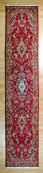 Sale 8617C - Lot 33 - Persian Kashan 425x85