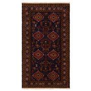 Sale 8915C - Lot 55 - AfghanNomadic Beluchi Rug, 190x106cm, Handspun Wool