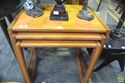 Sale 8287 - Lot 1072 - G-Plan Teak Nest of Tables