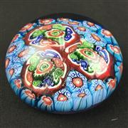 Sale 8402D - Lot 78 - Millefiori Art Glass Paperweight (Height - 5cm)