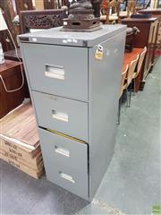 Sale 8601 - Lot 1393 - Metal File Cabinet
