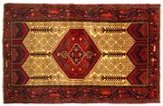 Sale 8715C - Lot 153 - A Persian Hamadan Classed As Village Rugs, Wool On Cotton Foundation, 200 x 122cm