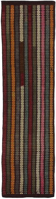 Sale 8725C - Lot 59 - A Vintage Turkish Kilim Runner, Hand-knotted Wool, 365x100cm, RRP $1,100