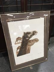 Sale 8958 - Lot 2086 - Bettina McMahon Alexandria Quartet, 1979 aquatint ed.3/20, 50x45cm, signed