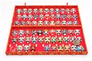 Sale 9070 - Lot 93 - A Cased Set of The Art of Facial Make Up in Beijing Opera
