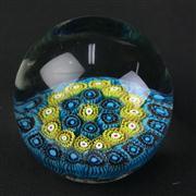 Sale 8402D - Lot 79 - Millefiori Art Glass Paperweight (Height - 7cm)