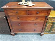 Sale 8680 - Lot 1004 - Victorian Style Chest of Five Drawers