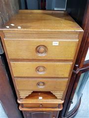 Sale 8700 - Lot 1040 - Vintage Australian Bedside