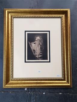 Sale 9127 - Lot 2006 - Norman Lindsay The Stairs, mono-photo lithograph, ed. 117/200 cm, frame: 66 x 55 cm
