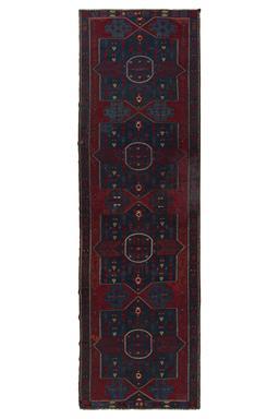 Sale 9149C - Lot 7 - ANTIQUE CAUCASIAN SOUMAK KILIM, 145X480cm