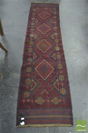 Sale 8289 - Lot 1049 - Persian Balouch Runner (265 x 65cm)
