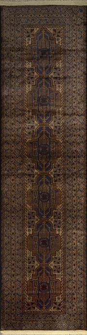 Sale 8380C - Lot 31 - Persian Baluchi Runner 280cm x 80cm