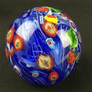 Sale 8402D - Lot 80 - Millefiori Art Glass Paperweight (Height - 7.5cm)