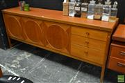 Sale 8511 - Lot 1050 - Nathan Circles Teak Sideboard
