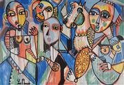 Sale 8892 - Lot 528 - Yosi Messiah (1964 - ) - Magic World 122 x 178 cm