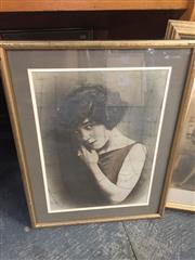 Sale 8958 - Lot 2077 - 3 Works: Early Framed Photographs and a Decorative Print