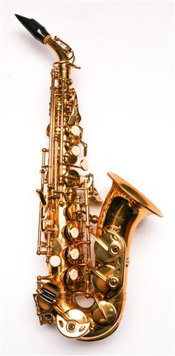 Sale 9136 - Lot 25 - A Fontaine Alto saxophone (L:48cm)