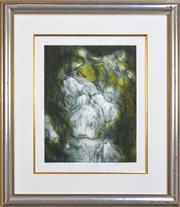 Sale 8301A - Lot 8 - Mieke Cohen (1943 - ) (2 works) - Adam & Eve 49.5 x 39.5cm, each