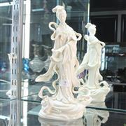 Sale 8306 - Lot 8 - Blanc de Chine Guanyin Figure