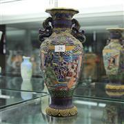 Sale 8306 - Lot 24 - Japanese Raised Satsuma Vase