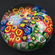 Sale 8402D - Lot 81 - Millefiori Art Glass Paperweight (Height - 6cm)