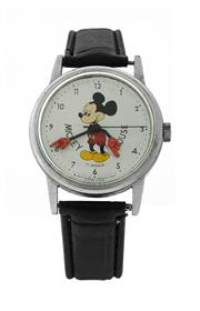 Sale 8406A - Lot 40 - Vintage Mickey Mouse wristwatch, with 17 Jewel Swiss made movement, 33 mm, in working order