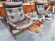 Sale 8421 - Lot 1075 - Pair of Siesta Chairs by Westnofa