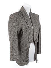 Sale 8493A - Lot 35 - A monochrome AJE open blazer, AUS size 8