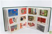 Sale 8603 - Lot 38 - Album of Soviet & Communism Cards & Postcards