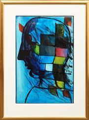 Sale 8630A - Lot 58 - Charles Blackman (1928 - 2018) - Puzzle, c1974 72.5 x 48cm