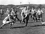 Sale 8754A - Lot 89 - Australian 'Wallabies' vs New Zealand 'All Blacks', 1962 - 17 x 21cm