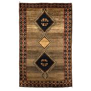 Sale 8830C - Lot 25 - A Persian Vintage Nomadic Gabbeh in Handspun Wool 119x193 cm