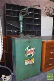 Sale 8390 - Lot 1323 - Vintage Castrol Oil Pump